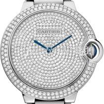 Cartier WE902045 BALLON BLEU DE 36mm WHITE GOLD 2016