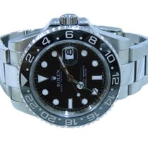 Rolex GMT Master II Ceramic Stainless Steel Mens Watch Pre-Owned