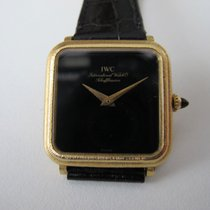 IWC Handaufzug in Gold