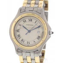 Cartier Men's Large Cartier Cougar 18K Yellow Gold and...