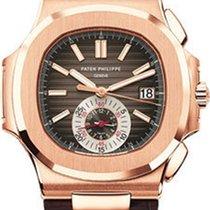 Patek Philippe Nautilus Mens Rose Gold 5980R-001