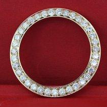 Rolex 5.00tcw Carats Of Diamonds On 14k Yellow Gold Bezel Watch