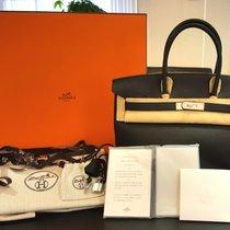 Hermès Birkin Bag 35 Schwarz Palladium