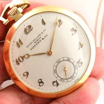 Patek Philippe 18K Solid Yellow Gold Pocket watch Tiffany...
