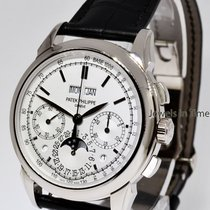 Patek Philippe Grand Complications Chronograph 18k White Gold...