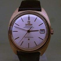 Omega vintage 1966 gold automatic chronometer ref 168.017...