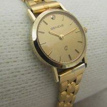 Candino 14ct golden DIAMOND dial