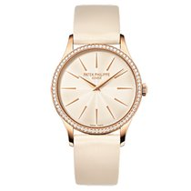 Patek Philippe 4897R-010 Rose Gold Ladies Calatrava 33mm [NEW]