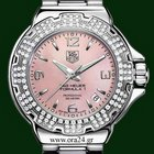TAG Heuer Formula One 37mm Pink Mother Of Pearl Diamonds B&P