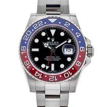 Rolex Gmt-master II 40mm In Oro Bianco 18kt Ref. 116719blro
