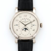 Patek Philippe White Gold Perpetual Retrograde Minute Repeater...