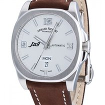 Armand Nicolet .. J09 Day & Date Automatic NEW FULL SET
