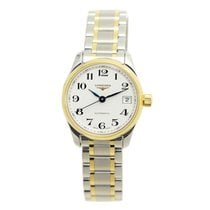 Longines Master 18k Gold Steel Silver Automatic L2.128.5.78.7