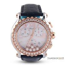 Chopard Happy Sport Chrono Rose Gold, Steel & Diamonds