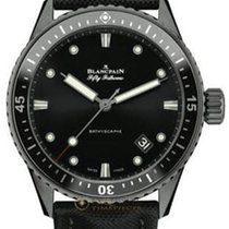 Blancpain Fifty Fathoms Bathyscaphe Automatic in Black Ceramic