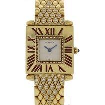Cartier Ladies Cartier Paris 18K Yellow Gold & Diamonds