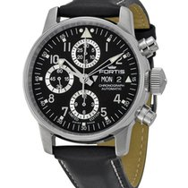 Fortis Flieger Classic LE Automatic Chrono Steel Mens Watch...