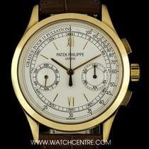 Patek Philippe 18k Yellow Gold Classic Chronograph Gents...