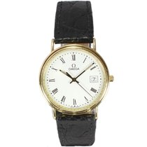 Omega 18ct Yellow Gold Strap Watch 196750MZ