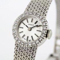 Tissot Vintage Diamonds solid 18K White Gold Ladies Watch Cal....