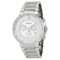 Movado SE Pilot Silver Dial Chronograph Stainless Steel...