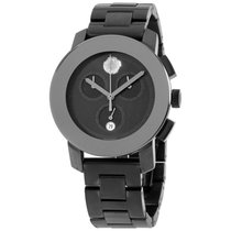 Movado Bold Men's 3600143 38 Mm Black Dial Stainless Steel...