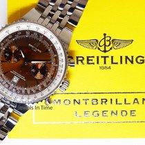 Breitling Montbrillant Legende 47mm Steel Chrongraph Watch...