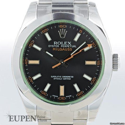 Rolex Oyster Perpetual Milgauss Ref. 116400 GV