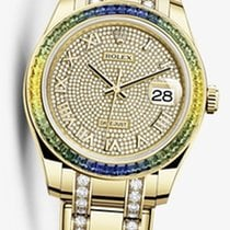 Rolex Datejust Pearlmaster / fully diamonds