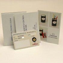 Omega Dynamic Certificate Zertifikat Warranty Booklet set