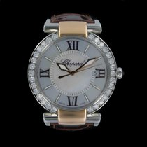 Chopard Imperiale 40mm watch 18kt rose gold, stainless steel