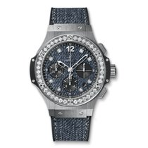 Hublot Big Bang Jeans Steel Diamonds 41 mm