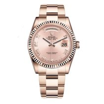 Rolex DAY-DATE 36mm 18K Rose Gold Watch Oyster 2016