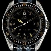 Omega S/S Black Dial Seamaster 300 Vintage Gents 165.024