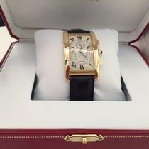 Cartier TANK AMERICAINE 18K JUMBO