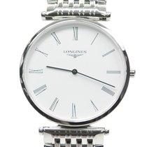 Longines La Grande Stainless Steel White Quartz L4.709.4.11.6