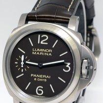 Panerai Luminor Marina 44mm 8 Days Titanium Watch Box/Papers...