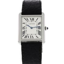 Cartier Tank Solo Stainless Steel 3169 W/ Box