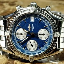 Breitling Chronomat with Blue Dial Box / Papers