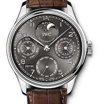 IWC Portuguese Perpetual Calendar White Gold  IW502307