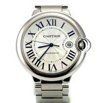 Cartier Ballon Bleu Steel Automatic Date  Large 42mm Full Paper