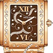 Patek Philippe Twenty-4 18K Solid Rose Gold Diamonds