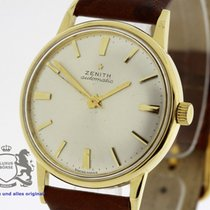 Zenith Vintage Automatic Men's solid 18K Gold Watch Cal....