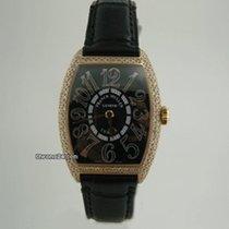 Franck Muller CURVEX ROSE GOLD DiAMOND BEZEL 7502 QZD
