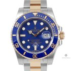 Rolex Submariner Steel and Gold Blue Dial Ceramic Blue 60min...