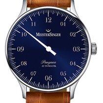 Meistersinger Pangaea - PM 908 - 40mm - Blue Dial