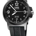 Oris BC3 Advanced, Day Date, Black Dial, Rubber