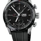 Oris Artix GT Chronograph, Black Dial, Rubber Bracelet