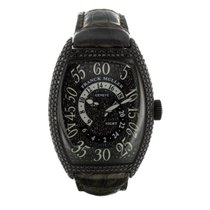 Franck Muller Cintrée Curvex Double Hours Retrograde Black...