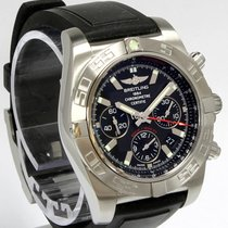 Breitling Chronomat 44 Mens Watch Black Dial AB011012/B967